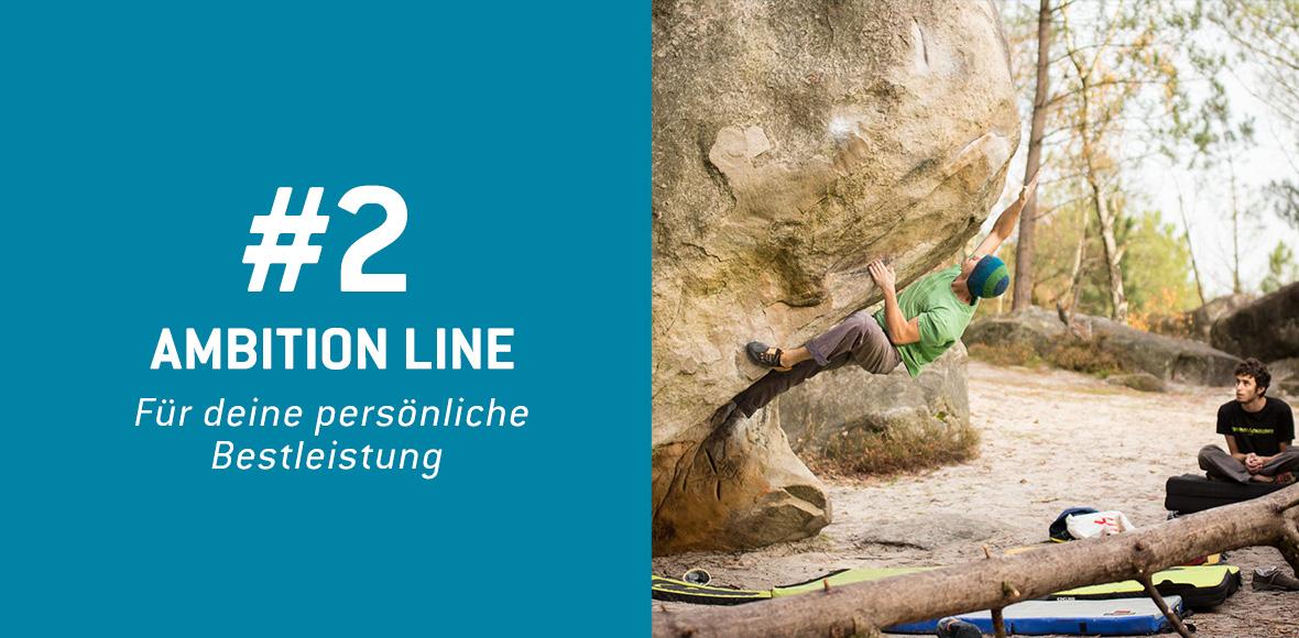 Ambition Line - Für Deine persönliche Bestleistung