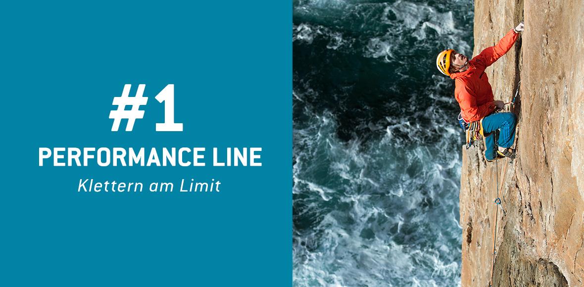 Performance Line - Klettern am Limit