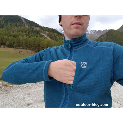 Bild 2 von Dennis zu 66 North - Grettir Zipped Jacket - Fleecejacke