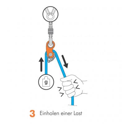Bild 3 von Maximilian zu Climbing Technology - Rollnlock - Seilrolle