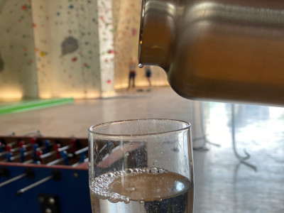 Bild 2 von Sebastian zu Klean Kanteen - TKWide Vacuum Insulated (Edelstahl Loop Cap) - Isolierflasche
