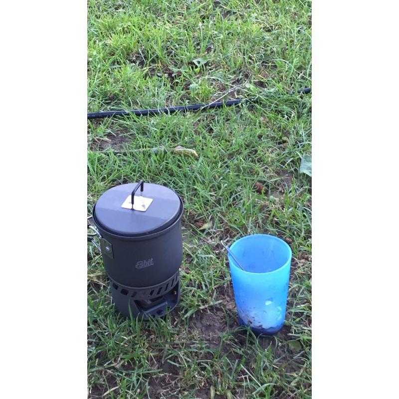 Bild 3 von Volker  zu Esbit - Trockenbrennstoff-Kochset - Trockenbrennstoffkocher