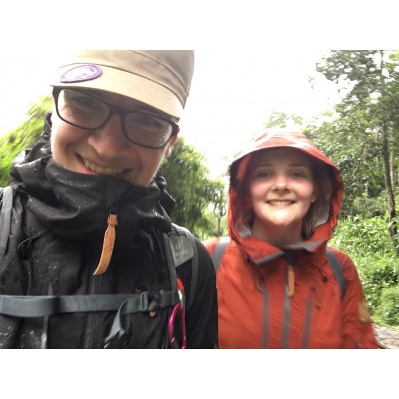 Bild 2 von Matthias zu Fjällräven - Keb Eco-Shell Jacket - Regenjacke