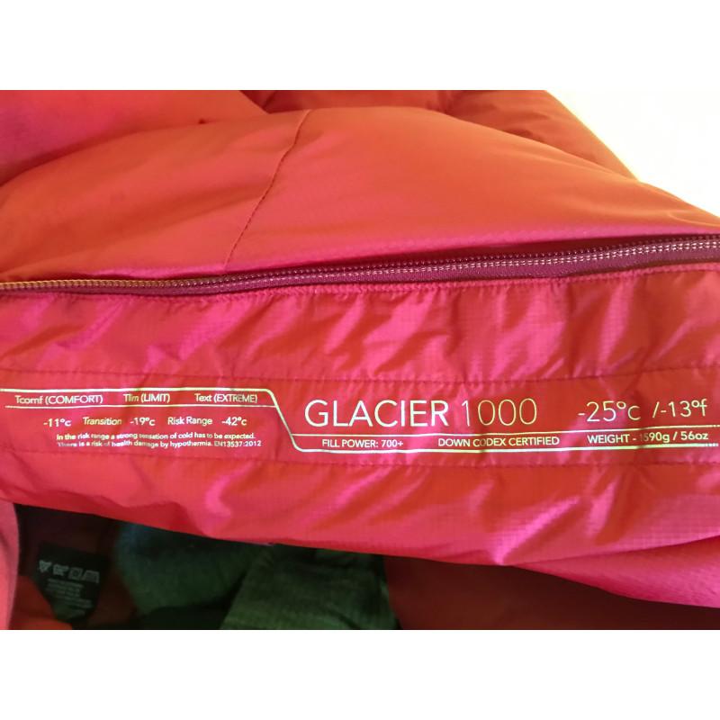 Bild 1 von Edith zu Mountain Equipment - Glacier 1000 - Daunenschlafsack