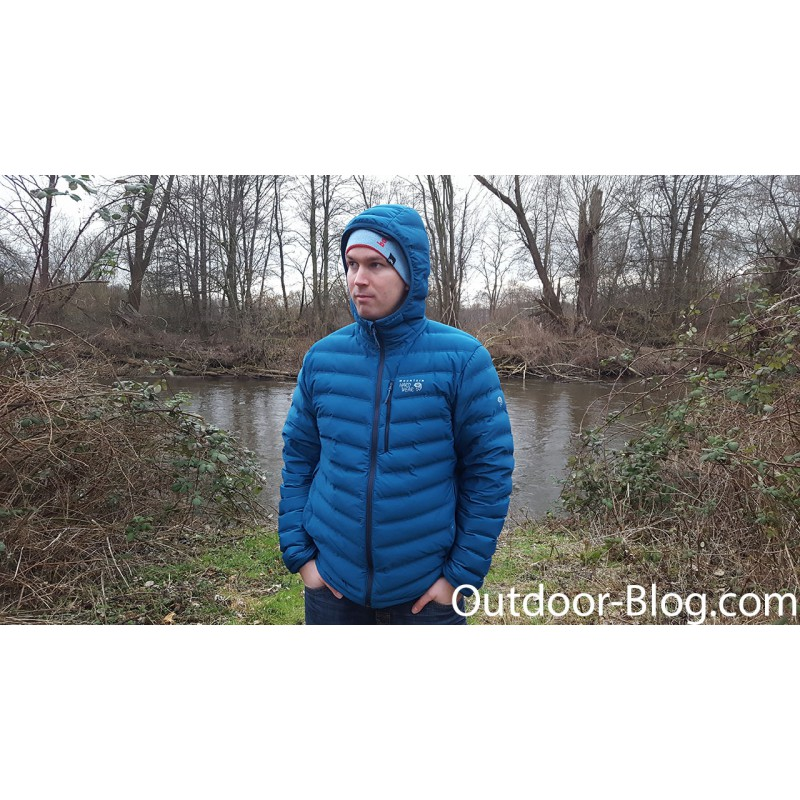 Bild 1 von Dennis zu Mountain Hardwear - Stretchdown Hooded Jacket - Daunenjacke
