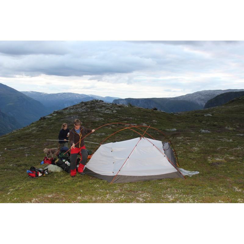 Bild 1 von Ute zu MSR - Stormking - Expeditionszelt