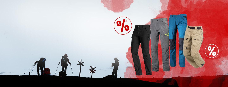 Mindestens 15% auf Trekkinghosen