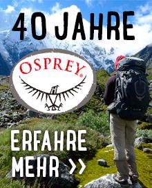 40 Jahre Osprey - Erfahre mehr