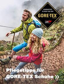Hier Gore-Tex Schuhe Pflegetipps holen!