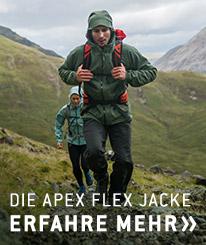Erfahre jetzt mehr über The North Face Apex Flex Jacken