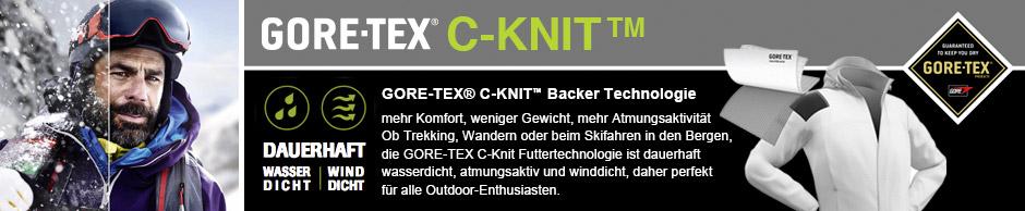 Werde eine Gore-Tex C-Knit Tester
