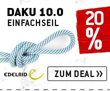 Zum Edelrid - Daku 10.0 - Bergfreunde Edition - Einfachseil