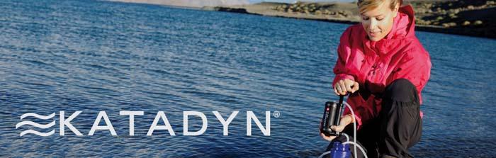 Katadyn: schnelle und sichere Aufbereitung von Trinkwasser