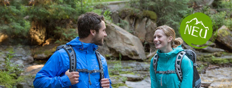 Jacken für den Übergang - Regenjacken & Softshells >>