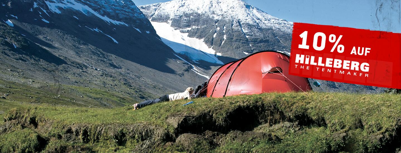 10% auf Hilleberg Zelte