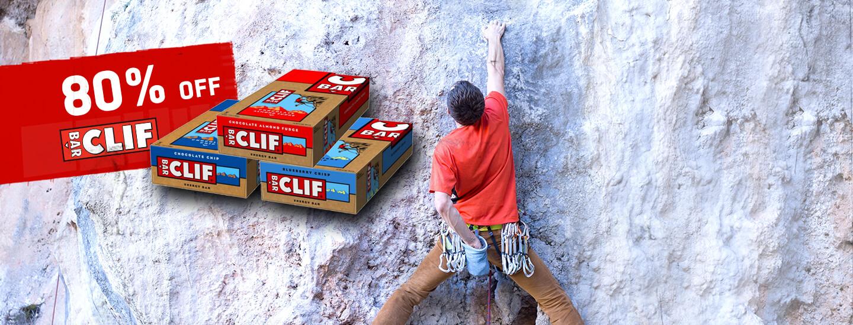 Energieriegel von Clif Bar um 80% reduziert!