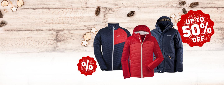 Warme Winterjacken im Angebot