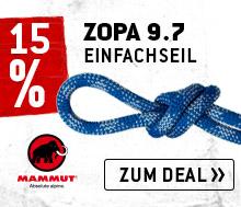 Zum Mammut - Zopa 9.7 - Bergfreunde-Edition Einfachseil