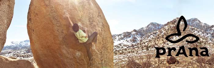Prana - Schöne Kleidung fürs Klettern & Yoga