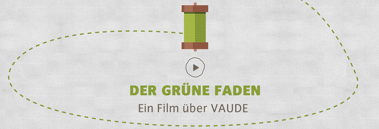 Vaude Video der grüne Faden