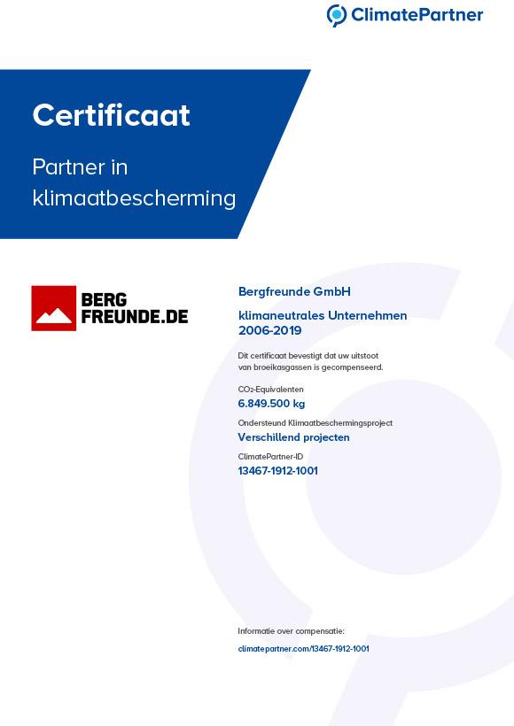 ClimatePartner Urkunde