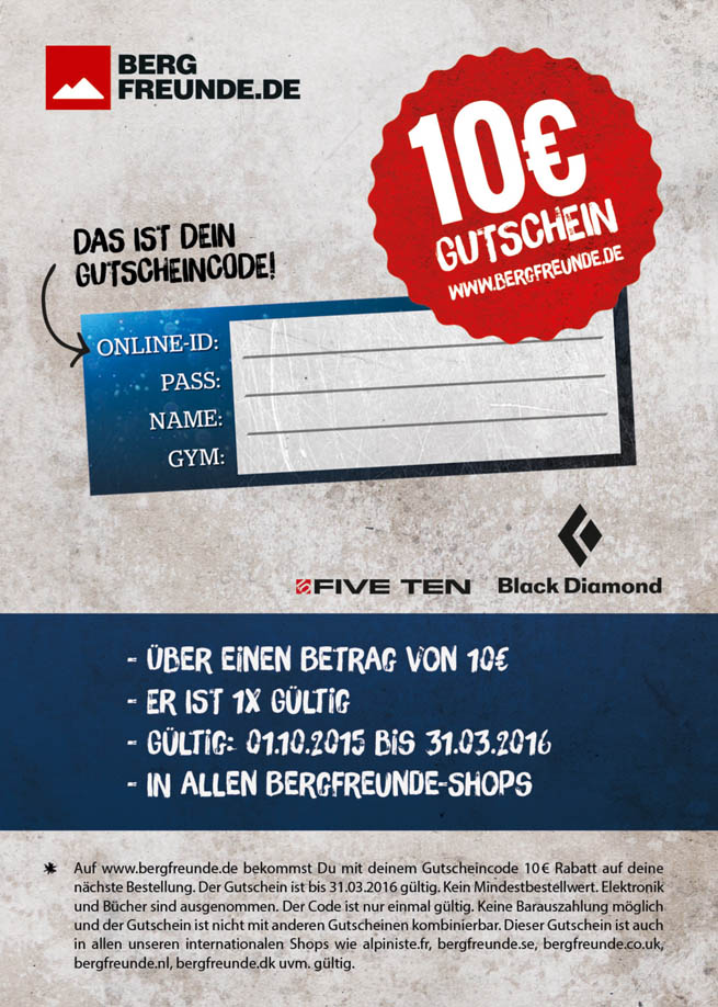 40fbd364530c78 Hardmoves - 10€ Gutschein für Teilnehmer
