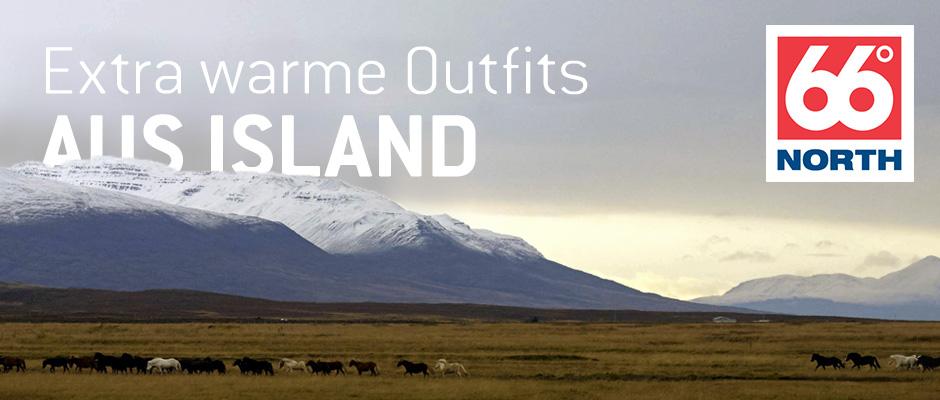 Extra warme Outfits aus Island