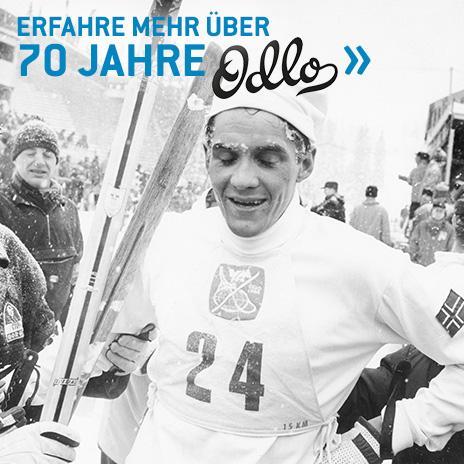 70 Jahre Odlo - mehr erfahren.