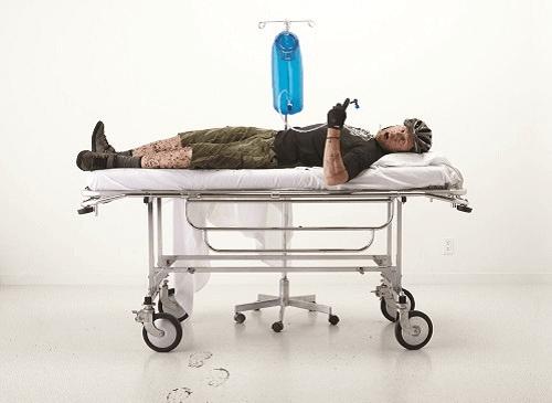 Dehydrierung kann zu einem körperlichen Schock führen