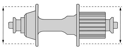 Lochkreisdurchmesser der Nabe beim Fahrrad