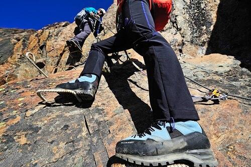 Postalm Klettersteig F Variante : Klettersteige in schluchten bergwelten