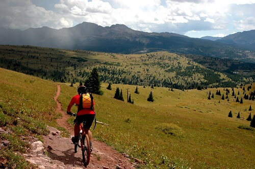 Mountainbiken auf Singletrails