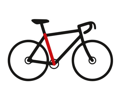 Fahrrad Rahmenhöhe richtig messen
