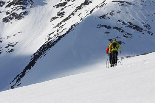 Bei Skitouren bleibt immer ein Restrisiko