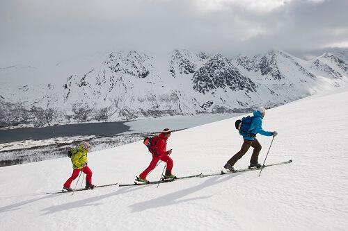 Stöcke für Skitouren