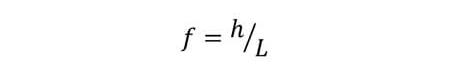Sturzfaktor Formel