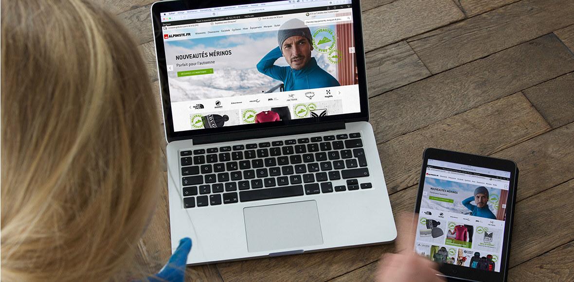 Alpiniste.fr, votre boutique en ligne pour l'escalade et l'alpinisme